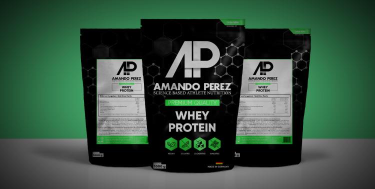 Verpackungsdesign Amando Perez